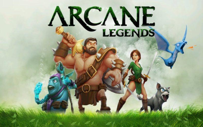 arcane legends best open-world mmorpg games android