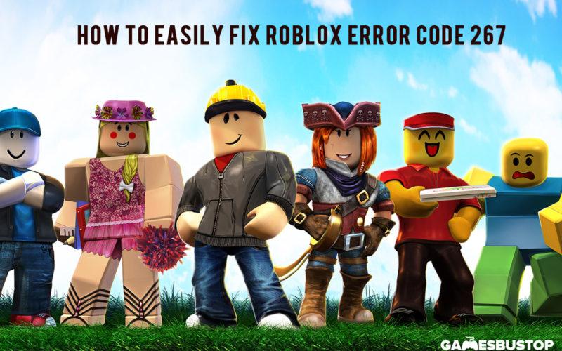 easily fix roblox error code 267