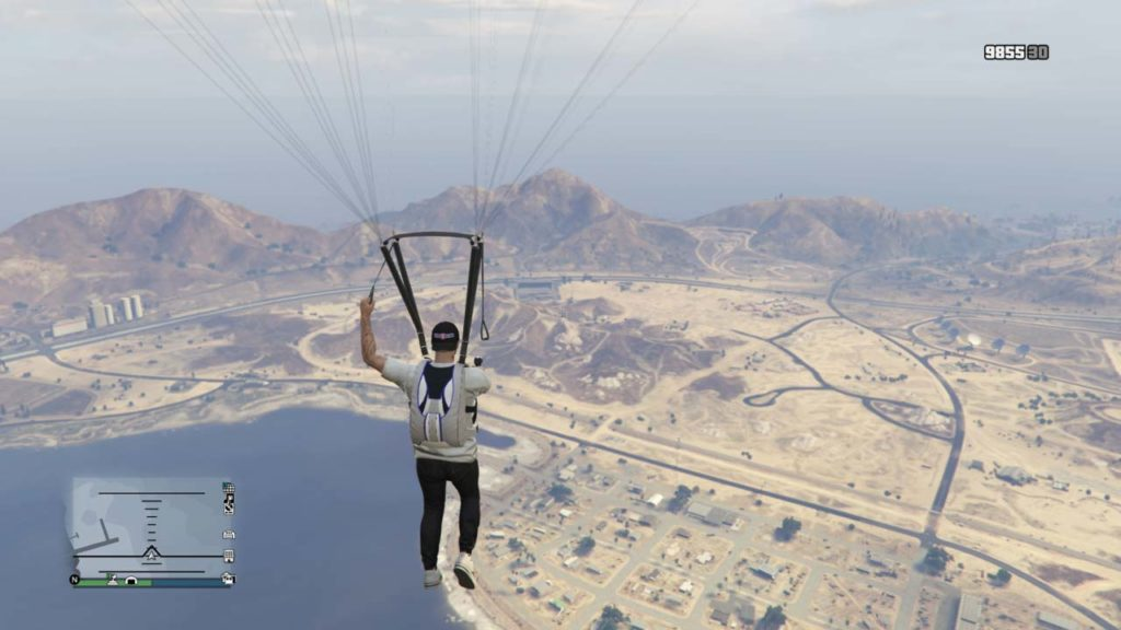 How to Use A Parachute In GTA 5