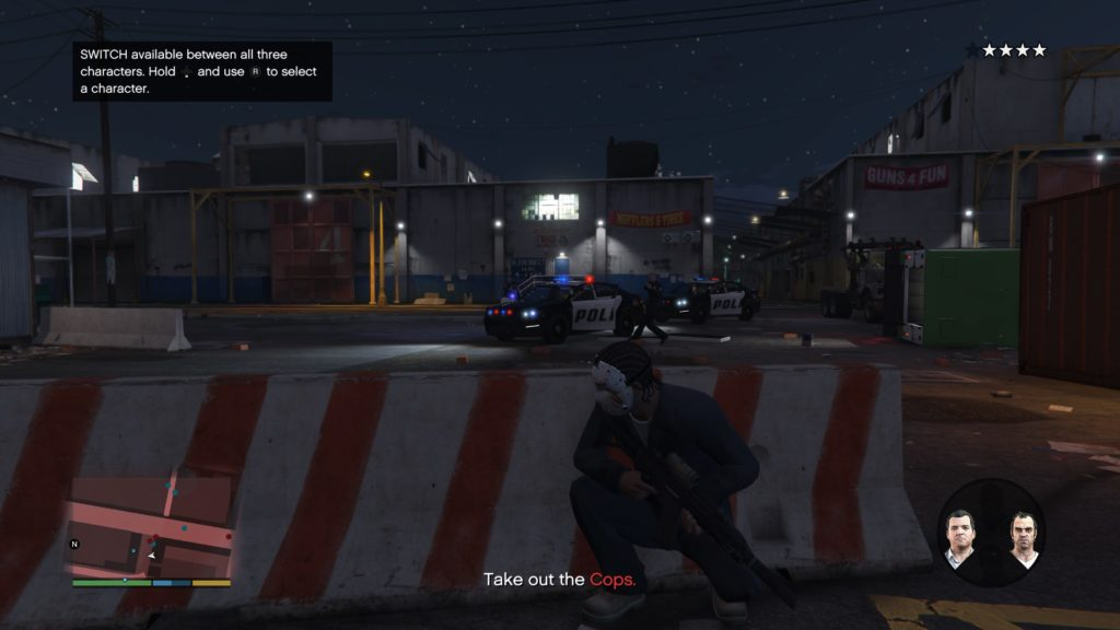 How to Switch Characters In GTA 5