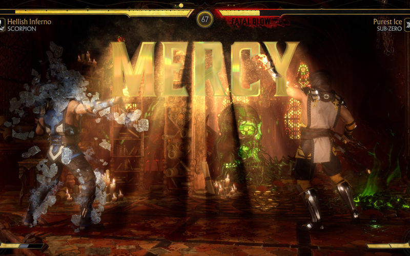 How to Mercy In MK11