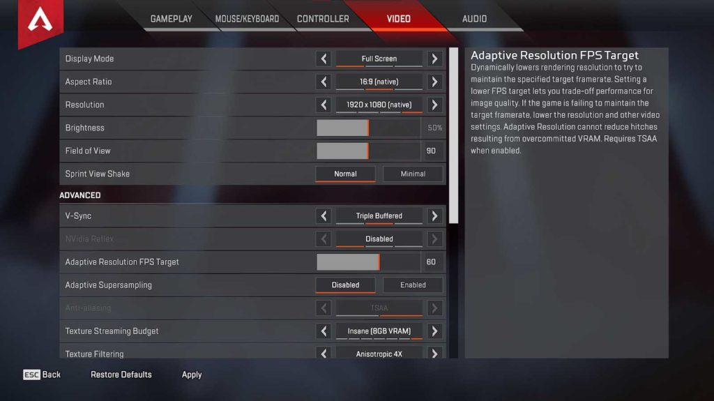 How to Show FPS Counter in Apex Legends