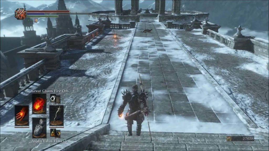 Anor Londo Bonfire Dark Souls 3 soul farming locations