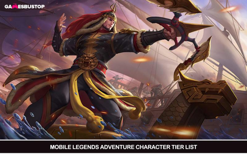 Mobile Legends Adventure Character Tier List