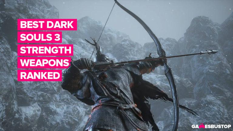 Dark Souls 3 Strength weapons