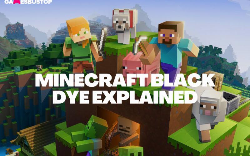 How to Get Minecraft Black Dye