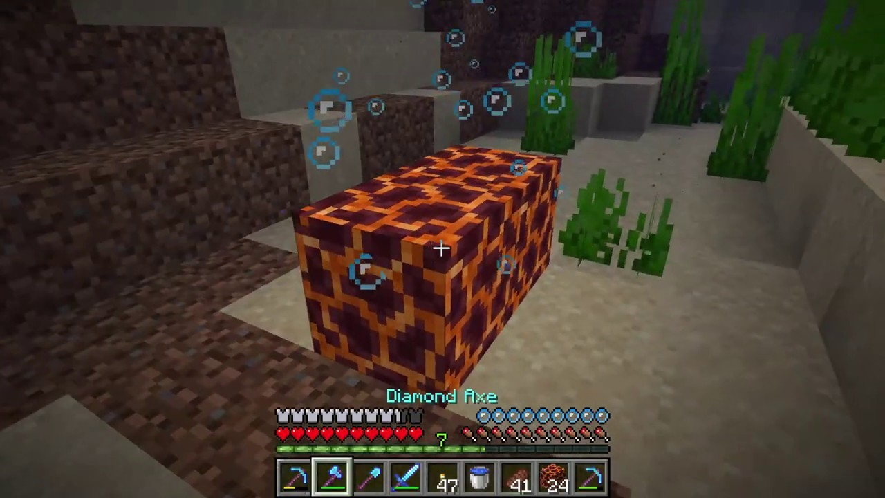 Minecraft Magma Block Features