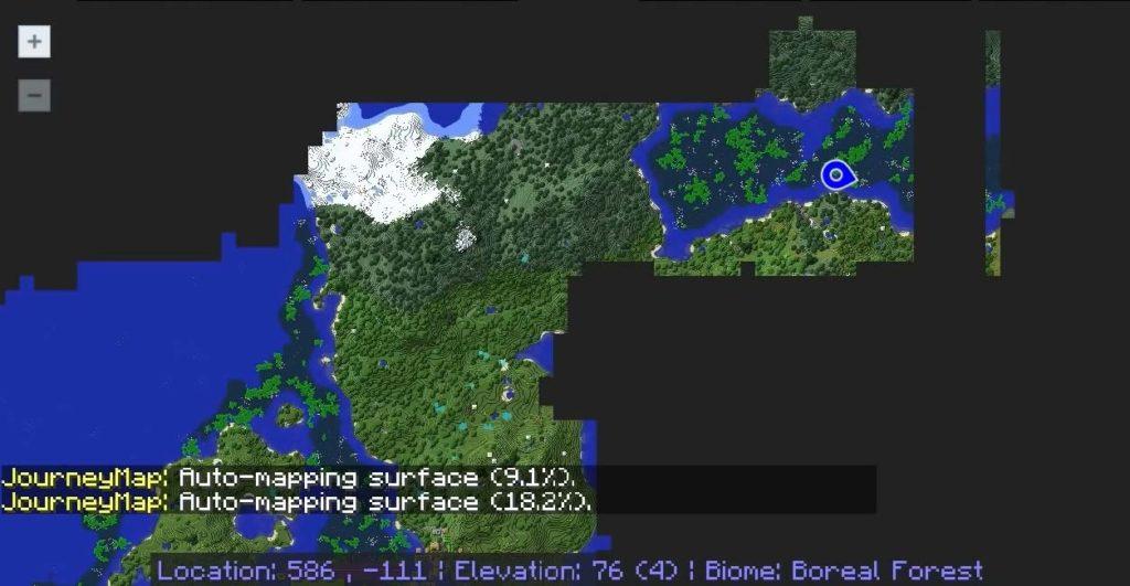 journey map minecraft