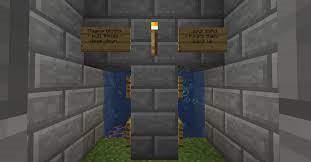 water elevator in minecraft
