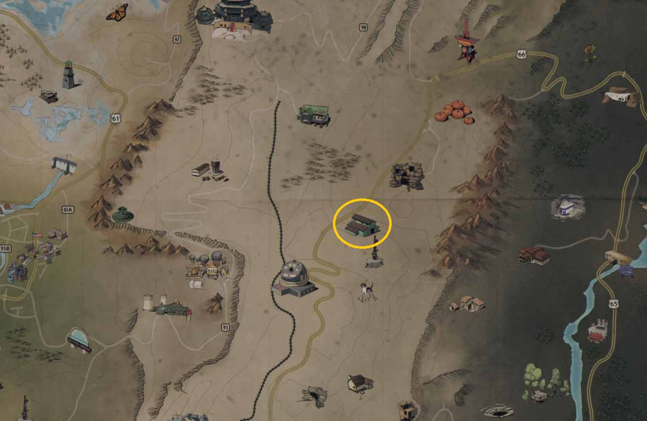Sons of Dane Compound All Fallout 76 Aluminum Locations