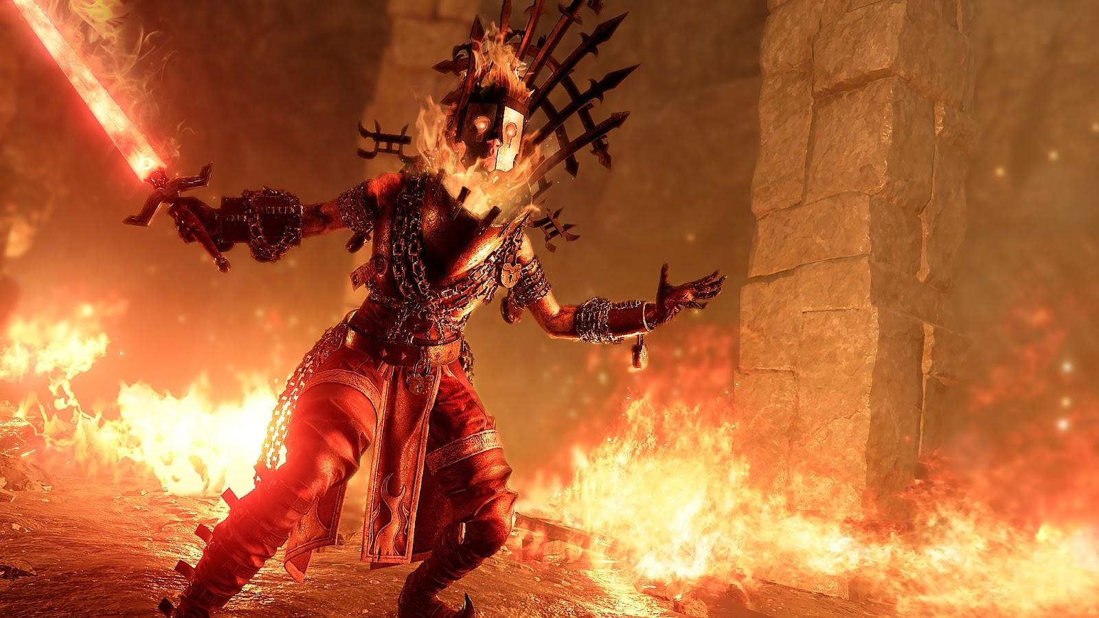 Warhammer Vermintide 2 Battle Wizard Class (Sienna Fuegonasus)