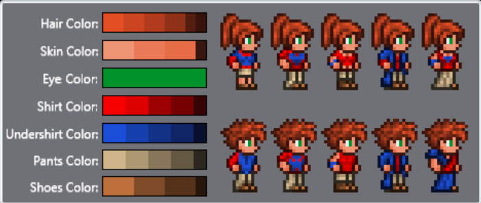 Slim Player and Female NPC Texture Models (+ Halloween sprites)