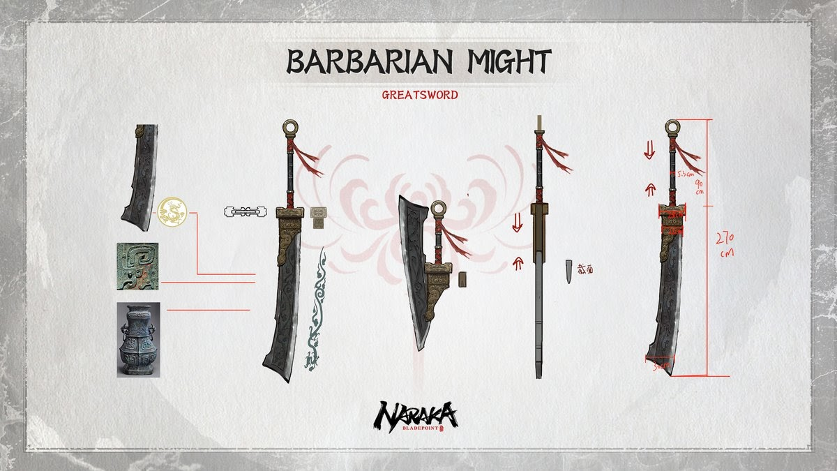 Naraka: BLADEPOINT B-Tier Weapons