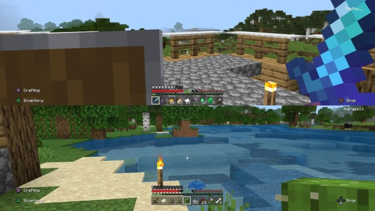 How to Play Splitscreen In Minecraft