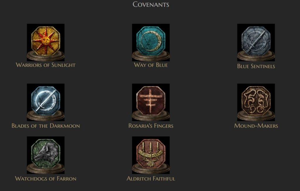 Dark Souls 3 Covenants Icons